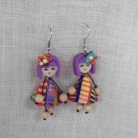 Boucles d'oreilles poupées les tonkinoises